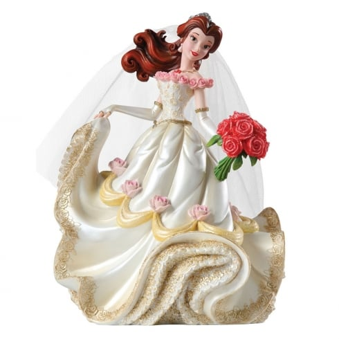 Disney Showcase Haute-Couture Bridal Collection Belle Wedding Figurine