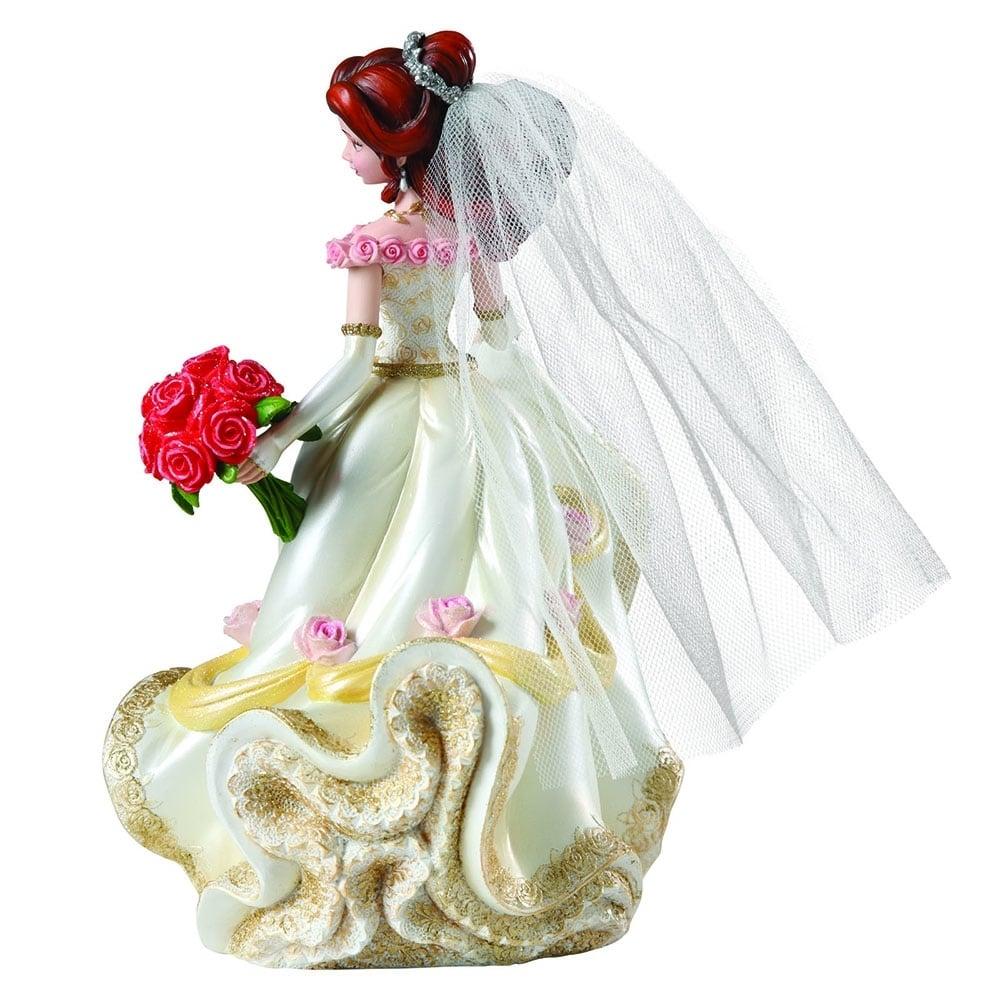 Disney Belle Wedding Dress: Disney Showcase Haute-Couture Belle Wedding Figurine 4045444