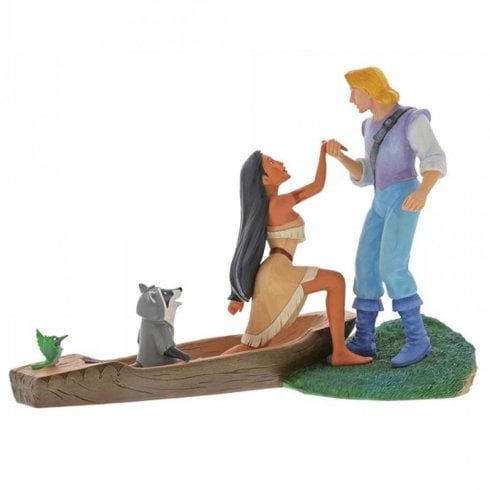 Disney Enchanting Collection Hear With Your Heart Pocahontas Figurine