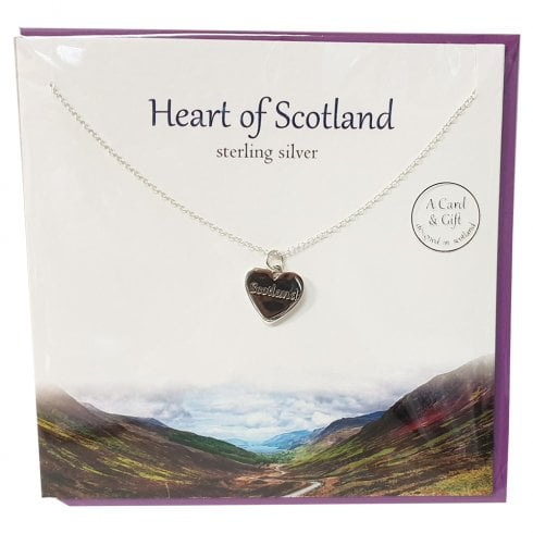 The Silver Studio Heart Of Scotland Pendant