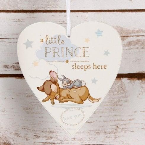 Widdop & Co. Heart Plaque - Little Prince
