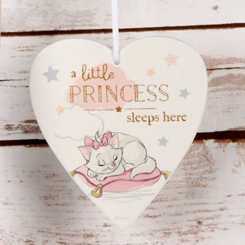 Widdop & Co. Heart Plaque - Little Princess