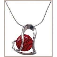 Heart Plated Pendant