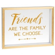 Heartfelt Sentiments Friends Are The Family We Choose Freestanding Plaque