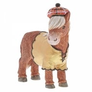 Heather - Scottish Highland Pony Figurine