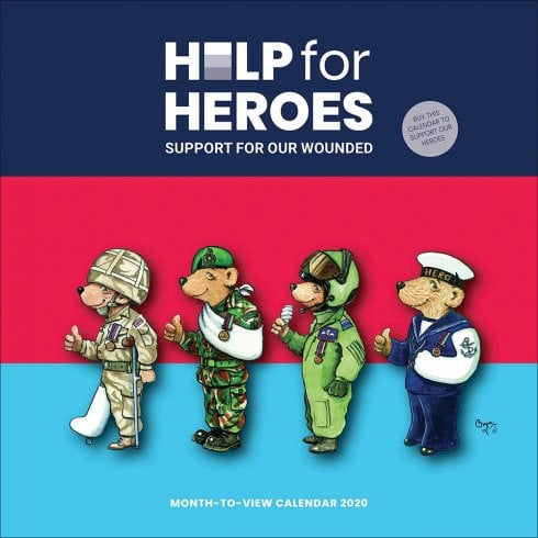 Otter House Help For Heroes 2020 Calendar
