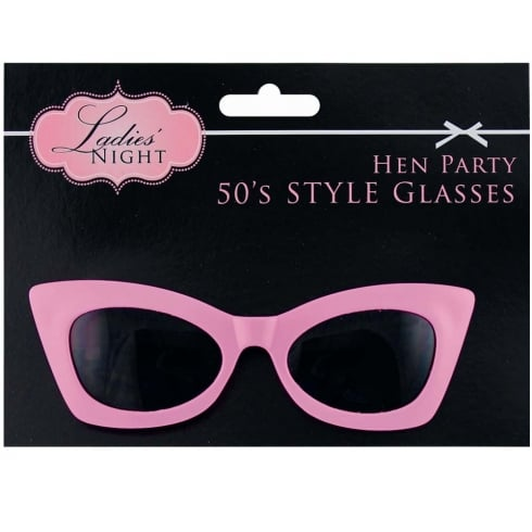Ladies Night Hen Party 50s Style Glasses