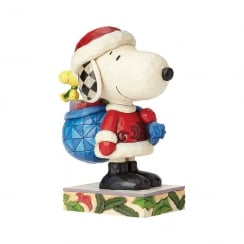 Here Comes Snoopy Claus Christmas Figurine