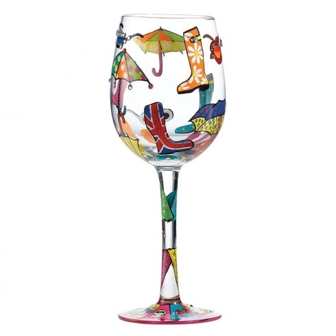 Lolita Here Comes Summer Wine Glass