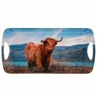 Highland Cow Coo Sandwich Tray Medium