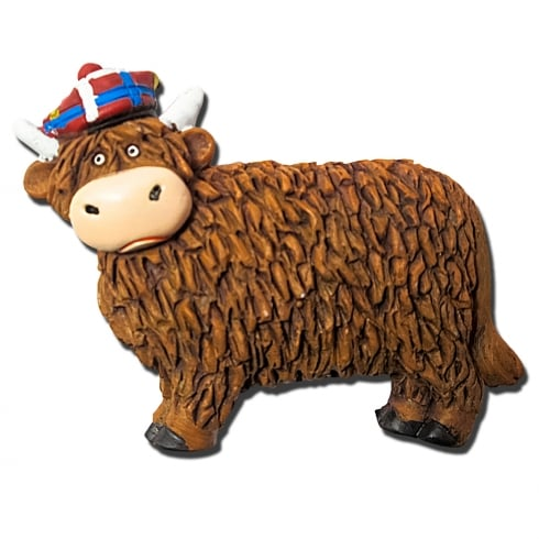 Thistle Products Ltd Highland Cow Magnet