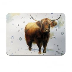 Highland Cow Placemats Set of 4
