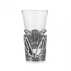 Highland Cow Shot Glass