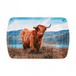 Highland Cow Snack Dish