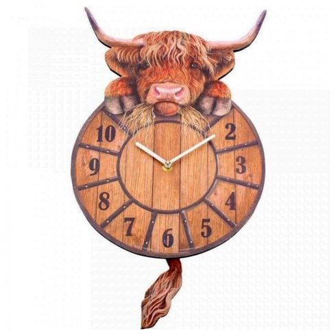 Highland Tickin Clock