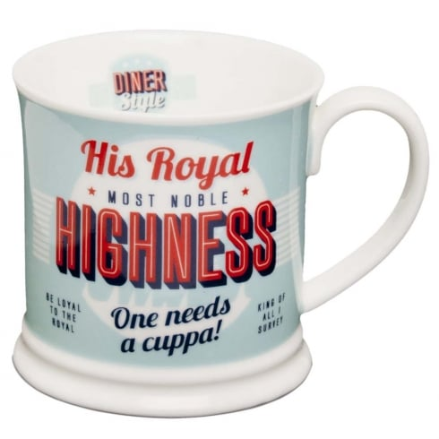 Diner Style Mugs His Royal Highness