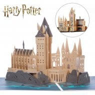 Hogwarts Castle Handmade 3D Pop Up Card
