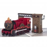 Hogwarts Express Hand Made Pop Up Card