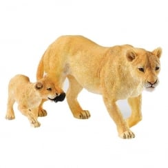 Hold On Tight Lion & Cub Figurine
