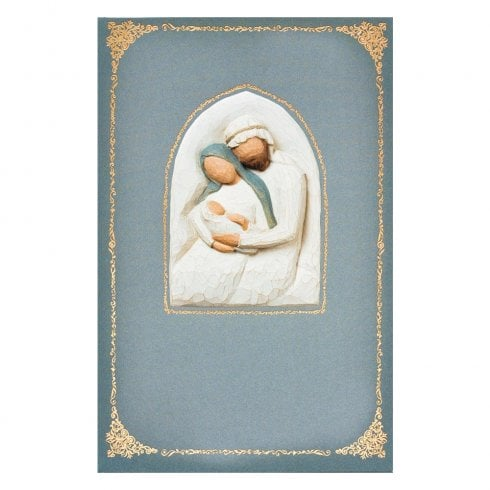 Willow Tree Holy Family Christmas Card With Message