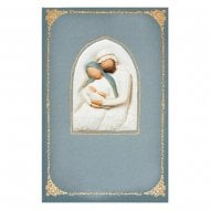 Holy Family Christmas Card With Message