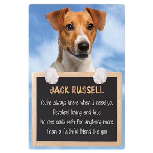Faithful Friends Collectables Home 3D Hang-Up Jack Russell