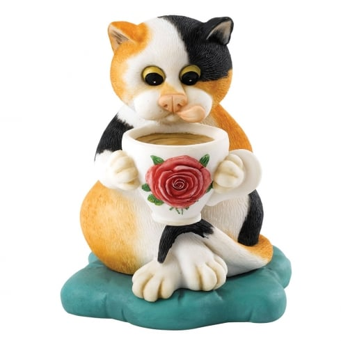Comic & Curious Cats Home Figurine