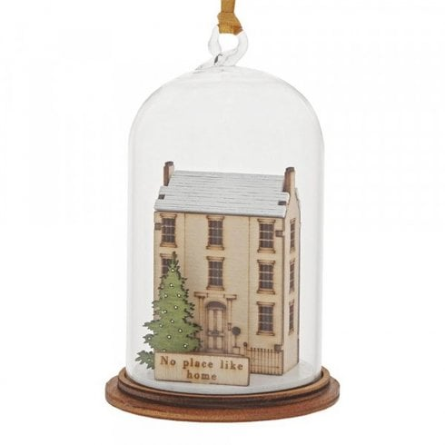 Kloche by Millbrook Gifts Home For Christmas Hanging Ornament A30262