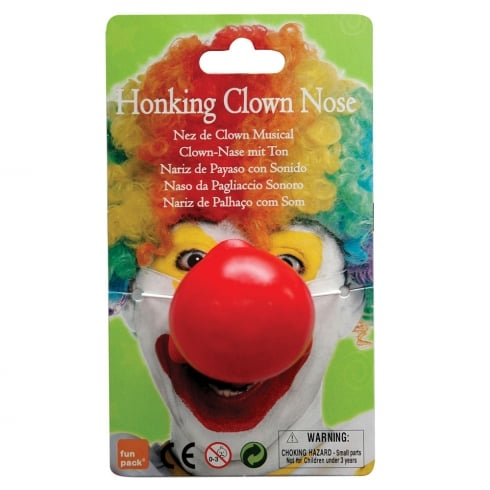 Bristol Novelty Honking Clown Nose