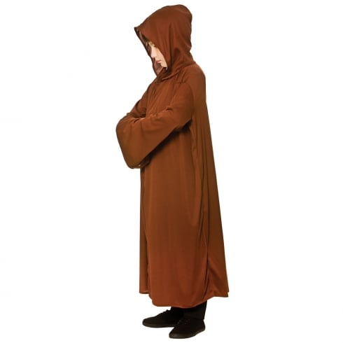 Wicked Costumes Hooded Robe - Brown
