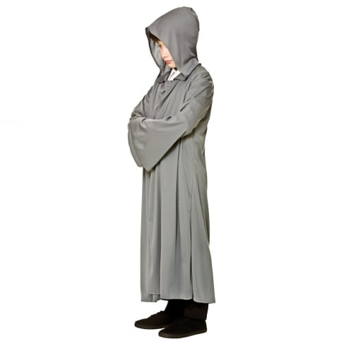 Wicked Costumes Hooded Robe - Grey
