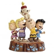 Hooray! Peanuts 65th Anniversary Figurine