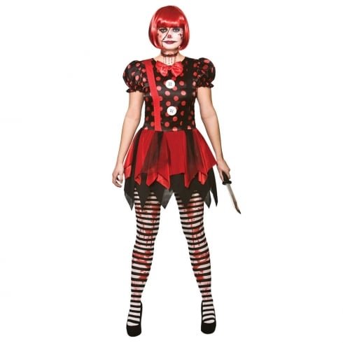 Wicked Costumes Horror Clown X Small