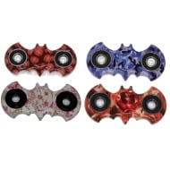 Hot Bat Pattern Spinner