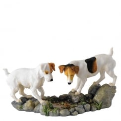 How High Jack Russell Terriers Figurine