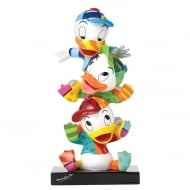 Huey Dewey and Louie Stacked Britto Figurine