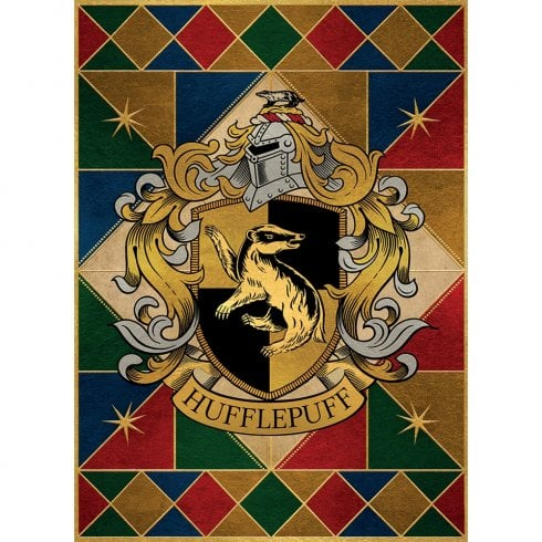 Mint Publishing Hufflepuff Crest Card
