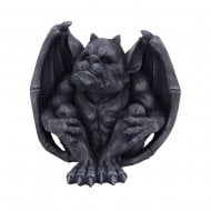 Hugo Dark Black Grotesque Gargoyle Figurine
