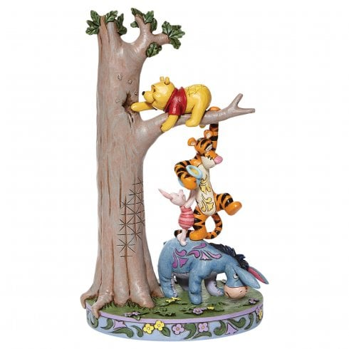Disney Traditions Hundred Acre Caper Winnie the Pooh Figurine