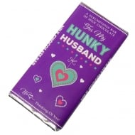 Hunky Husband Milk Chocolate Bar