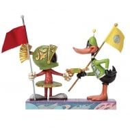 I Claim This Planet Marvin The Martian & Daffy Duck Figurine