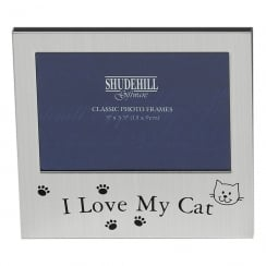 I love My Cat 5 x 3.5 Photo Frame