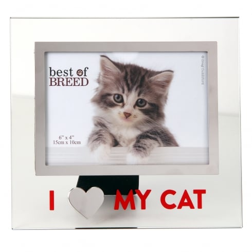 Best of I Love My Cat Picture Frame