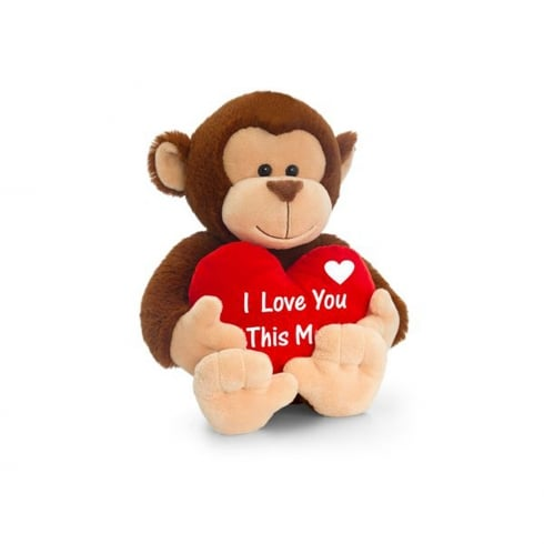 Keel Toys I Love You This Much 40CM Monkey
