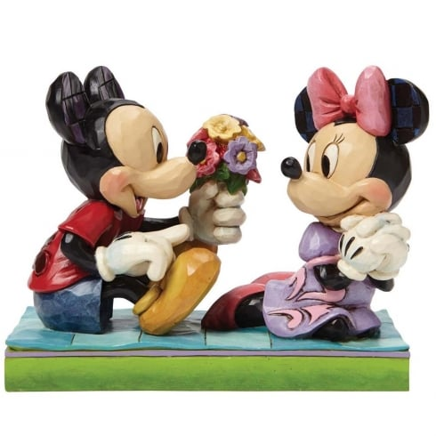 Disney Traditions I Picked This Just For You Mickey & Minnie Figurine