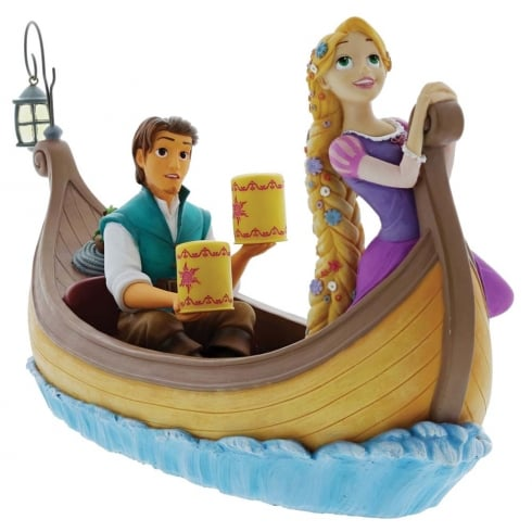Disney Enchanting Collection I See The Light Rapunzel & Flynn Rider Figurine