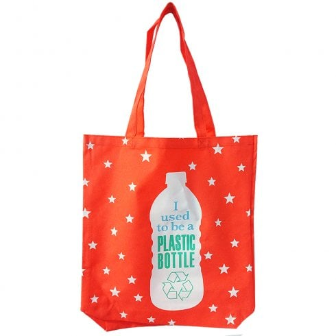 WPL I Used To Be A Plastic Bottle - Large Tote Bag