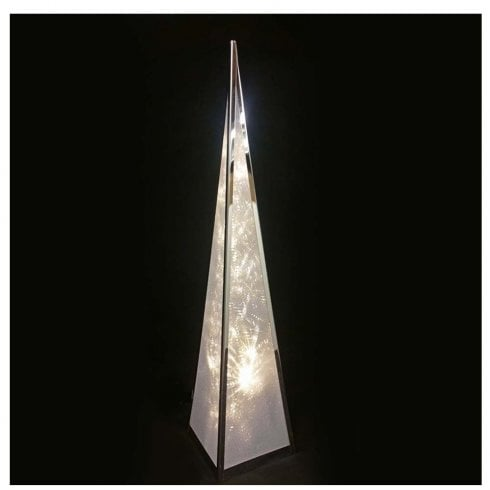 Luxa Ice Starburst Pyramid Light 45cm
