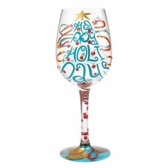 Ill Be Home Wine Glass