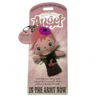 In The Army Now Angel Keyring